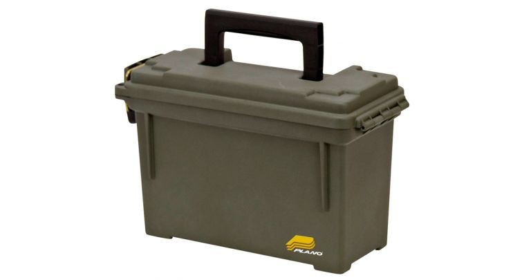 """Army Ammo Box Olive Green Waterproof Air Tight Sealed Handle 3"""" x 9 1/2"""" x 5"""" plastic army military ammo grenades bullet box"""
